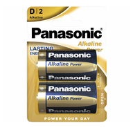 Батарейки Panasonic Alkaline Power D 2 шт