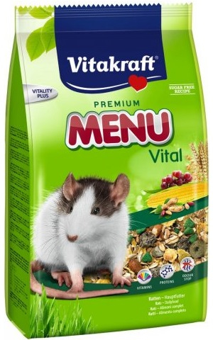 Корм Vitakraft Menu Vital для крыс 400 г