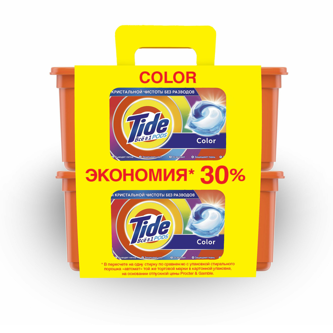 Капсулы для стирки Tide Color 1,55 кг