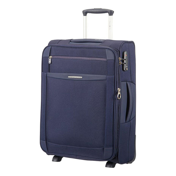 Чемодан Samsonite Dynamo Upright синий 55 см