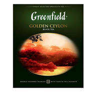Чай черный Greenfield Golden Ceylon в пакетиках 2 г 100 шт