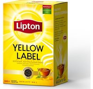 Чай черный Lipton Yellow Label Tea листовой