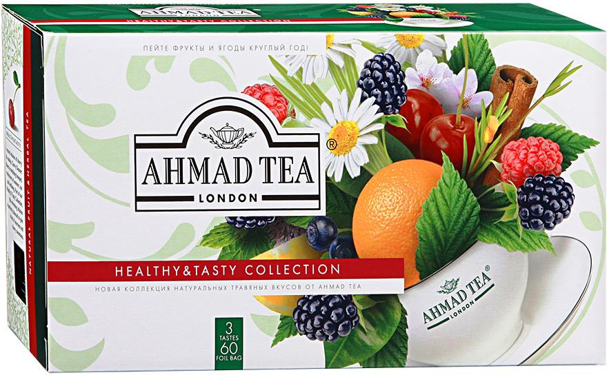 ��� �������� Ahmad Tea Healthy & Tasty Collection �������������� ������� ������ � �����