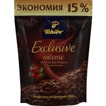 Кофе Tchibo Exclusive intense растворимый сублимированный