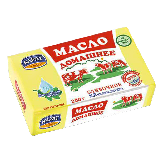 Масло Карат Домашнее 82,5%