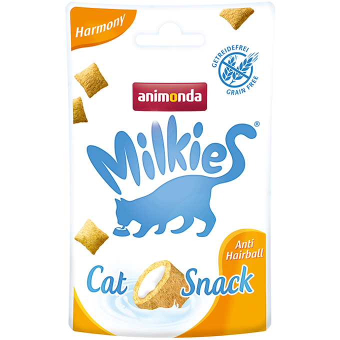 Лакомство Animonda Milkies Harmony Anti Hairball для кошек 30 г