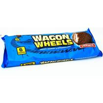 Печенье Wagon Wheels с джемом