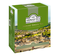 Чай зеленый Ahmad Tea Jasmine Green Tea в пакетиках 2 г 100 шт