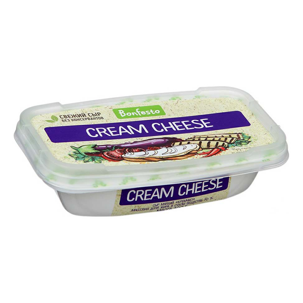 Сыр Bonfesto Cream Cheese мягкий
