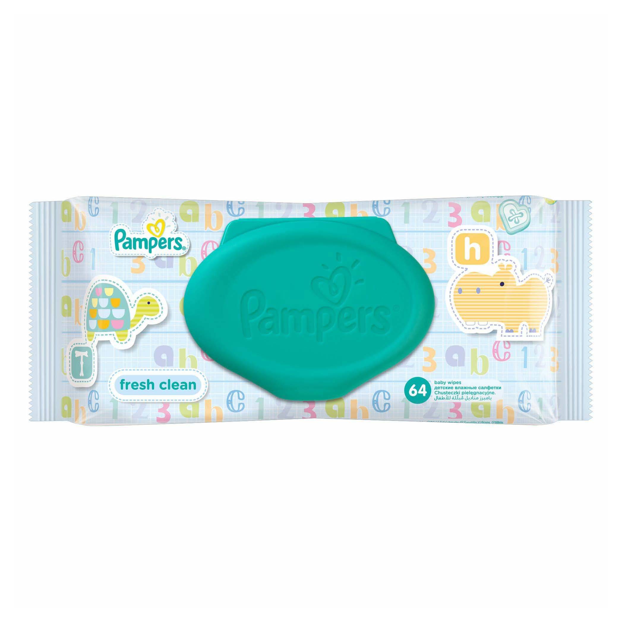 Салфетки Pampers Baby Fresh