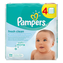 Салфетки Pampers Baby Fresh Clean x4