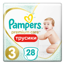 Трусики Pampers Premium Care 6-11 кг