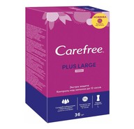 Салфетки Carefree Plus large