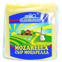 Сыр Oldenburger Mozzarella фасованный