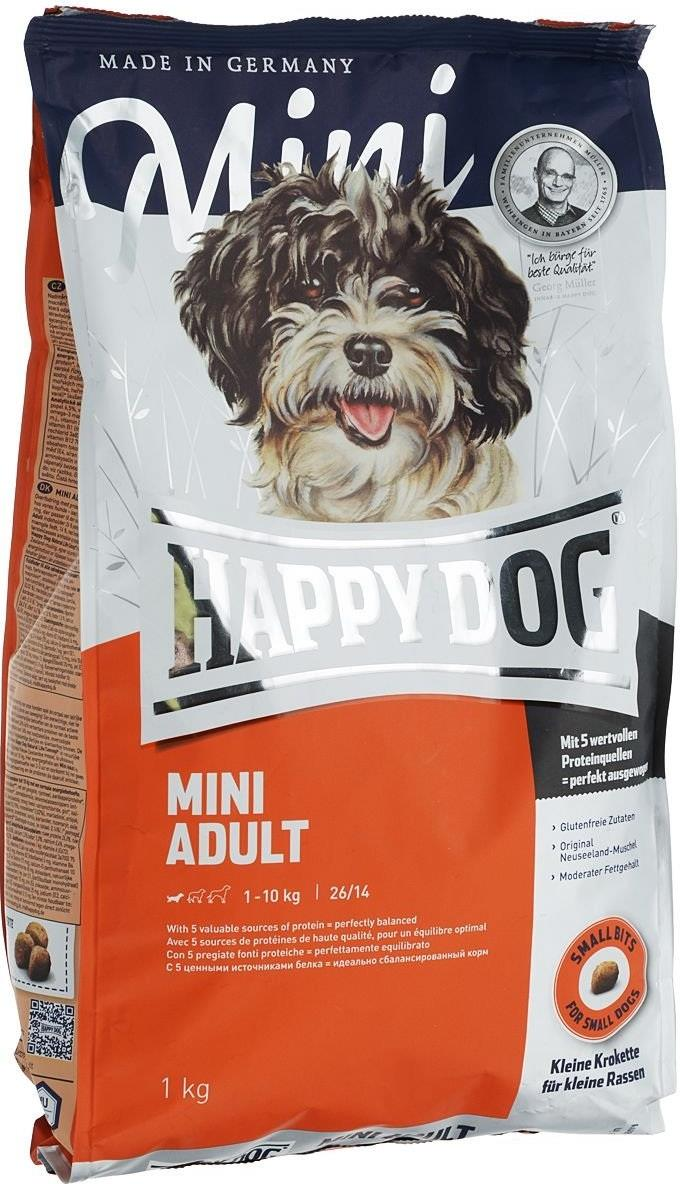 Корм Happy Dog Supreme - Mini Adult для собак