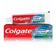Зубная паста Colgate Triple Action Натуральная мята