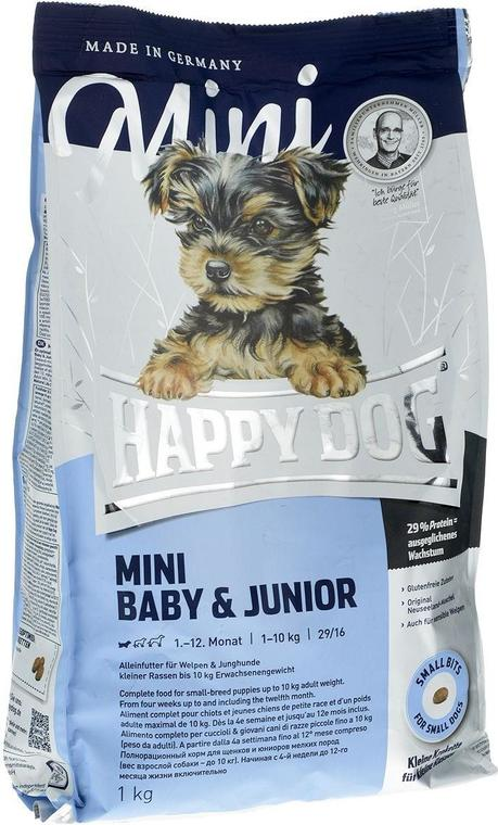 Корм Happy Dog Supreme Young - Mini Baby&Junior для щенков