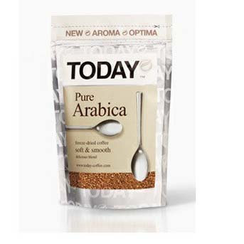 Кофе Today Pure Arabica растворимый сублимированный 150 г