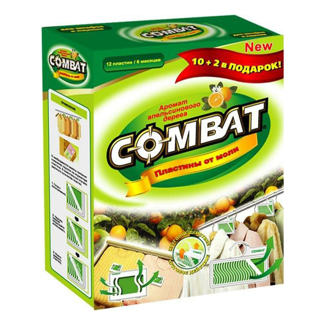 Средство Combat Superbait от моли