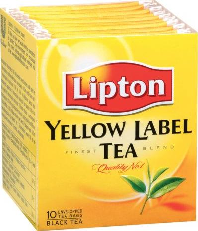 Чай черный Lipton Yellow Label