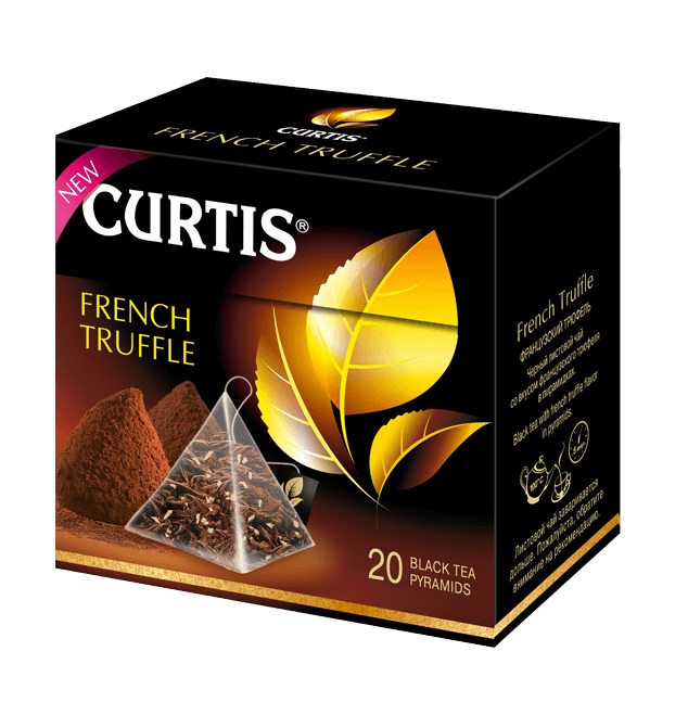 Чай черный Curtis French Truffle пирамидки