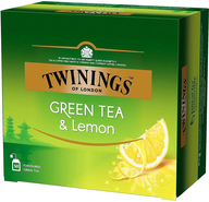 Чай зеленый Twinings Green Tea & Lemon с цедрой лимона