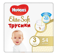 Трусики Huggies Elite Soft 3 (6-11 кг)