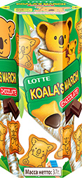 Печенье Koala's march Chocolate