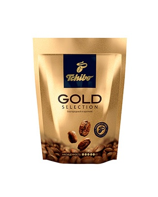 Кофе Tchibo Gold Selection растворимый сублимированный