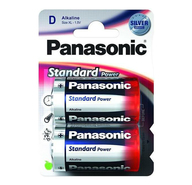 Батарейки Panasonic Standart Power D 2 шт
