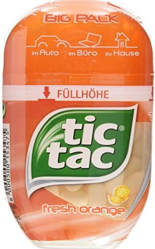 Драже Tic Tac Big-Pack fresh orange