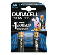 Батарейки Duracell AA MX1500 Turbo 2 шт