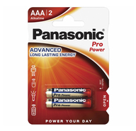 Батарейки Panasonic Pro Power ААА 2 шт