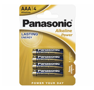 Батарейки Panasonic Alkaline Power AAA 4 шт