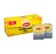 Чай черный Lipton Yellow label в пакетиках